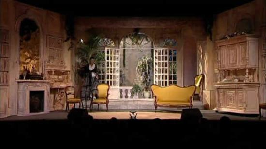 D cors de th tres et venmentiel for Decor de theatre